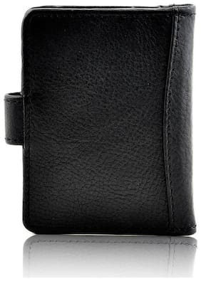 FULL GRAIN BLACK CARDHOLDER