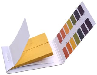 Full pH 1-14 Test Indicator Litmus Paper Water Soil Testing Kit, 80 Strips