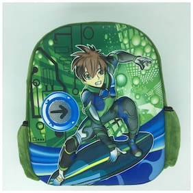 Funcart 3D Ben 10 school backpack bag