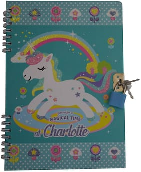Funcart Unicorn Magical time spiral secret diary