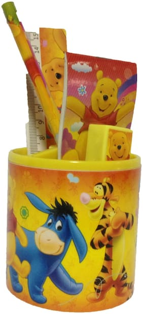 Funcart Winnie The Pooh  Stationery Stand Set of (6 items/pack)