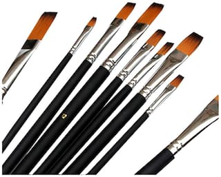 Futaba Artists Paint Brush Set - 9 Pcs
