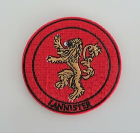 "Game of Thrones HOUSE LANNISTER Embroidered 3"" Patch"
