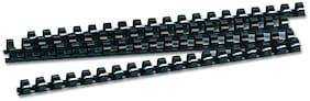 GBT Plastic Black Comb Ring 12mm (Set of 100)