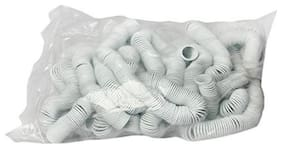Gbt PVC White Spiral Ring 18mm ( Pack of 1kg) Capacity 140-150 Sheet
