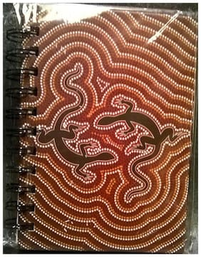 "Gecko SMALL JOURNAL Wire-O Piccadilly 200 ruled pages NEW! 6""x4.5"" NEW"