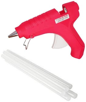 GLUN MAKSON 40W 40 WATT PROFESSIONAL HOT MELT GLUE GUN WITH 5 STICKS