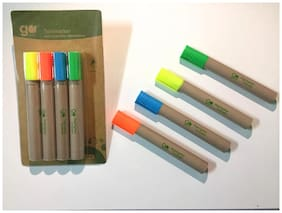 Go Green Highlighters (Set of 4)