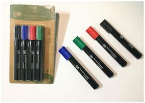Go Green Permanent Markers (Set of 4)