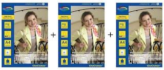 GoColor High Glossy Inkjet Photo Paper 185 GSM 60 Sheets A4 Size