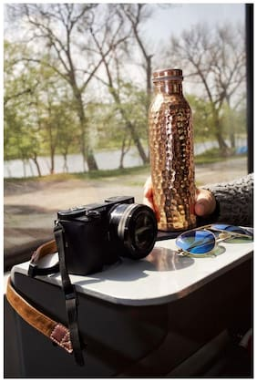 Golden Stainless Steel Water Bottle