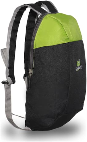 Goodluck Polyester Backpack, 10 Ltrs