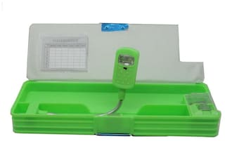 Goyal Double Sided magnetic pencil Box with LED Light - ben10