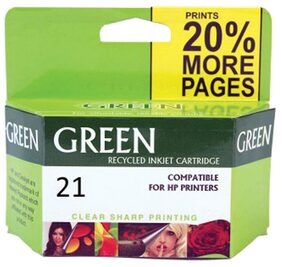 Green 21 Ink Cartridge (Multi Color)