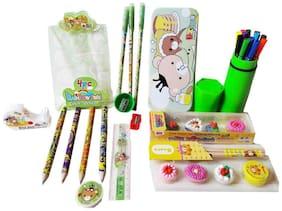 GreenViji Combo pack of 25pcs School Kit