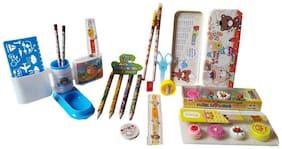 GreenViji Combo pack of 27pcs School Kit