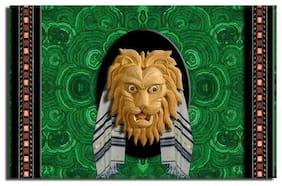 GREETING CARD Messianic Jewish Lion of Judah Tallit HANDMADE satin finish