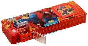 GTC Spiderman Calculator Pencilbox