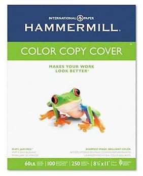 "Hammermill 12254-9 Color Copy Cover Paper - Letter - 8.5"" X 11"" - 60lb - Ultra"