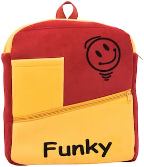 HAMSTON 30 l School bag - Red