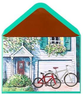 Handmade Bikes  Father s Day Card - Papyrus Glitter & Foil RARE*