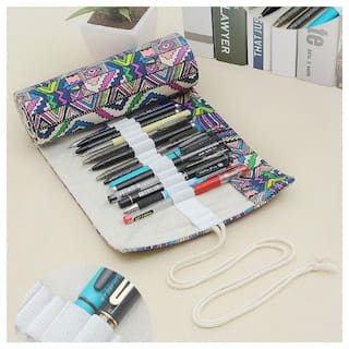 Handmade Creative Pencil Case Roll Pouch