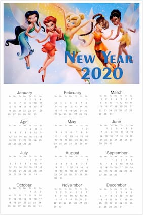 Happy New Year Barbees 2020 Calendar