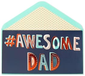Hashtag Awesome    Fathers Father   s Dad Day Card Humor Funny Trendy - Papyrus