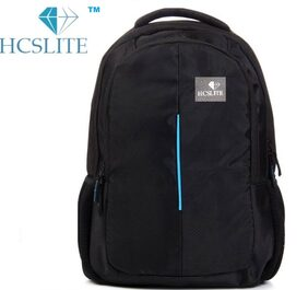 HCS Lite 20 Kelogram Capacity Black school and Laptop bag for boys / girls