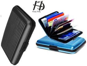 HD Aluma Wallet Designer Card Holder - Assorted Color (Set Of 1)