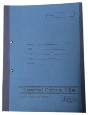 Hello Perfect High Quality Special Cobra File (Size: Full Scape, Pack of 144)
