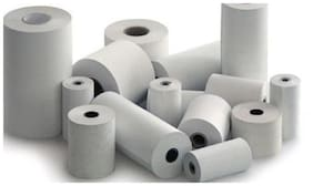 Hello Perfect 58mmx25mtr(5.08 cm (2 inch)) Thermal Paper Roll for Billing Machine (Set of 30 Rolls)