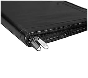 Hello Perfect Leather Professional Files and Folders, Certificate, Documents Holder ( 12 Sleeves ) To Store A4 and Legal Size Documents
