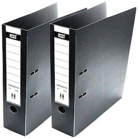 Helloperfect Black Folder File  (Set of 2)