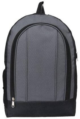 High Quality Grey And Black School Bag COLOR:Grey & Black