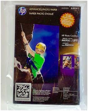 NEW HP Advanced Photo Paper Glossy Sheets 4x6 Q6638-10016 Universal Inkjet 250gm