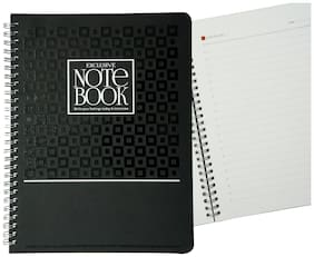 Imagine Products A5 Exclusive Classic Wiro Notebook - Black