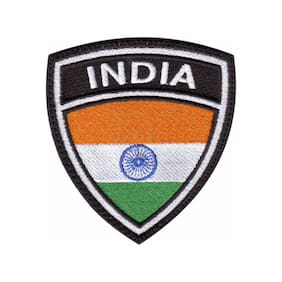 India Flag Crest Embroidered Patch