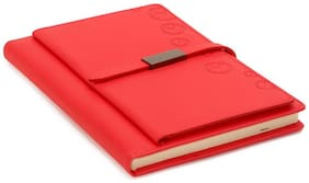 Inscripto Red Diary with Magnetic Flap