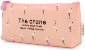 INSTABUYZ single zipper Pencil pouch Organizer for School Kids pencil case for girls & boys