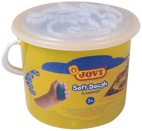 Jovi Blandiver Soft Dough And Accessories In A Bucket