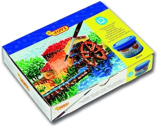Jovi Poster Paint Box 12 Jars 35 cc - Assorted Colours