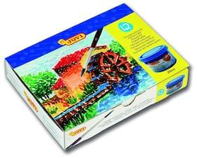 Jovi Poster Paint Box 12 Jars 35 cc - Assorted Colours