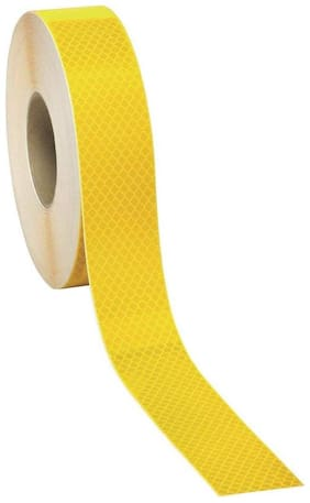 Just Rider Intensity Reflective Conspicuity Tape;2 Inch X 3 Metre (2 Inch X 119 Inch) (Yellow)