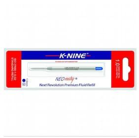 K-Nine Neometry Fluid Pen Refill (Blue- Pack of 6 refills)