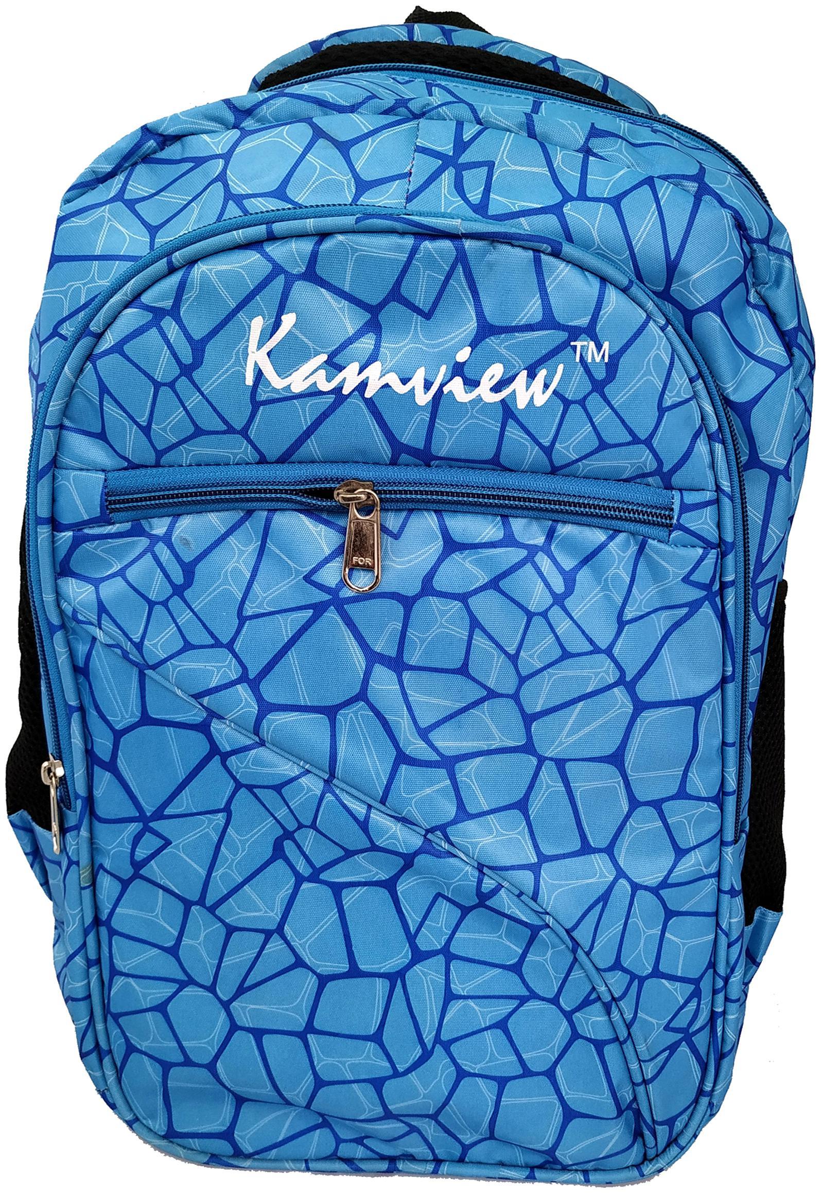 KAMVIEW 30 L School bag   Backpack   Blue