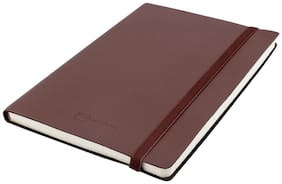 Kevin Danny Leatherette Collection A5 Notebook Brown