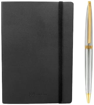 Kevin Danny Combo of Silver Forst Ball Point pen & Notebook