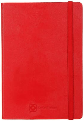 Kevin Danny A5 Leatherette Notebook RED
