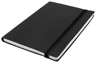 Kevin Danny Leatherette Notebook A5 in Black